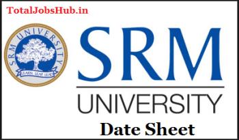 srm-university-date-sheet