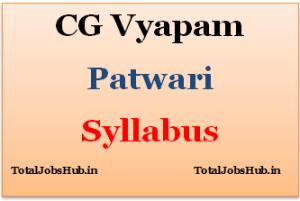 cg-vyapam-patwari-syllabus