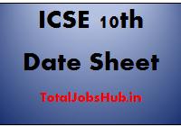 icse-10th-date-sheet