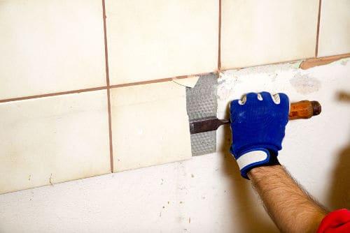 fix discolored damaged bathroom tiles