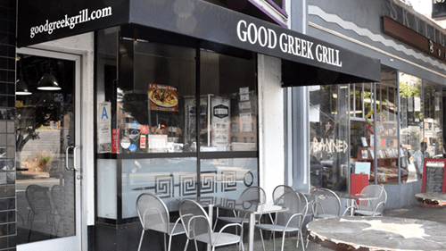 LA greek restaurant
