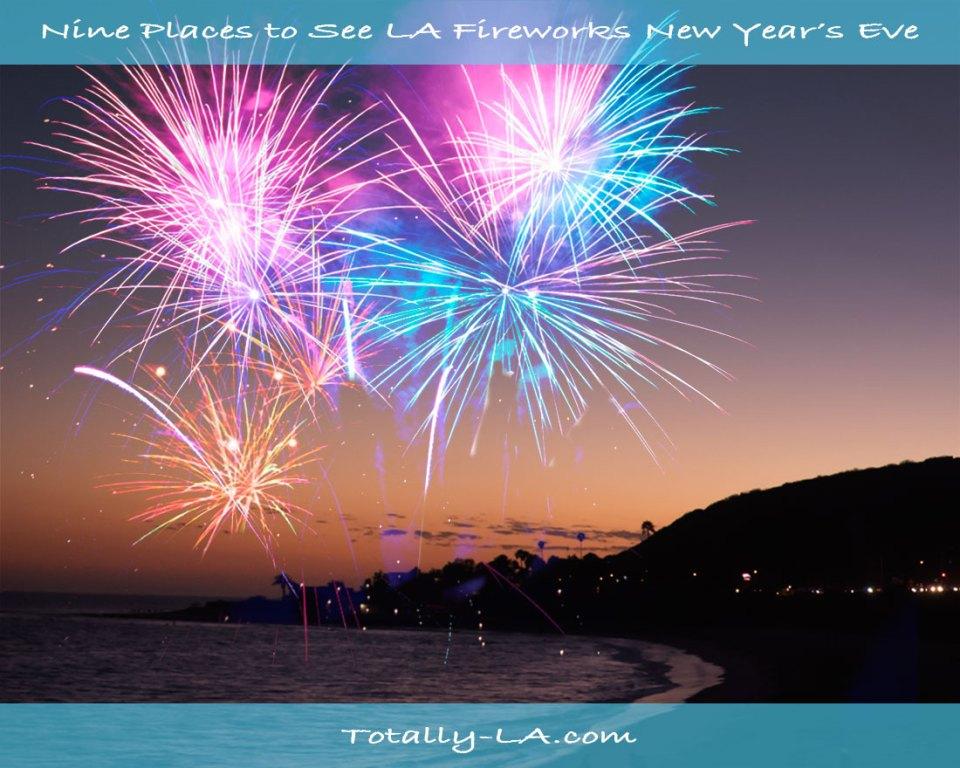 LA Fireworks Displays