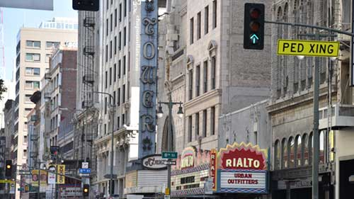 broadway theatre district