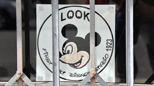 Walt Disney first studio