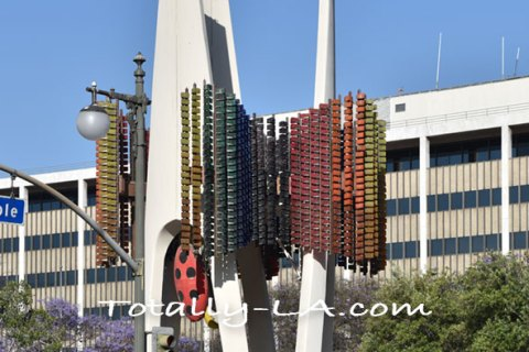 The Triforium Sculpture in Fletcher-Bowron Square