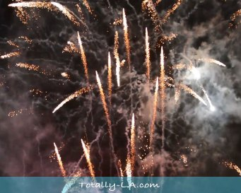 LA fireworks