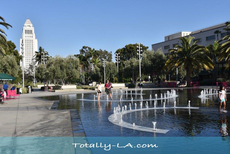 cool off in LA