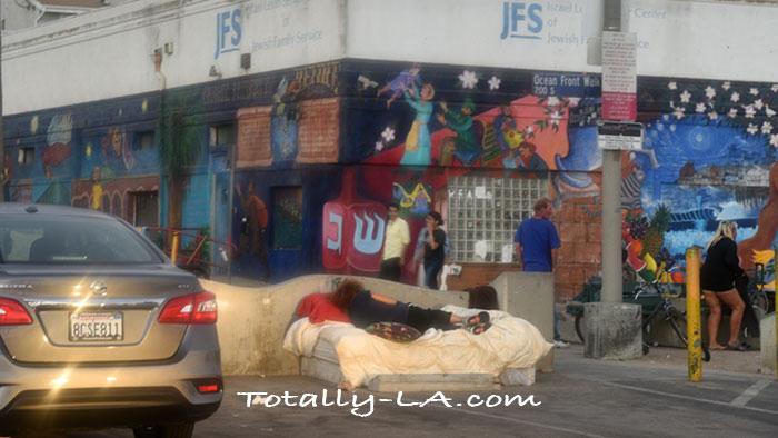 homeless venice beach