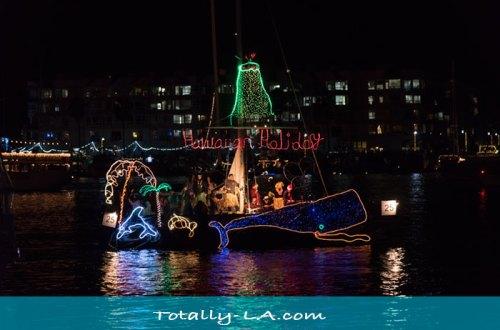 Southern California Christmas Boat Parades
