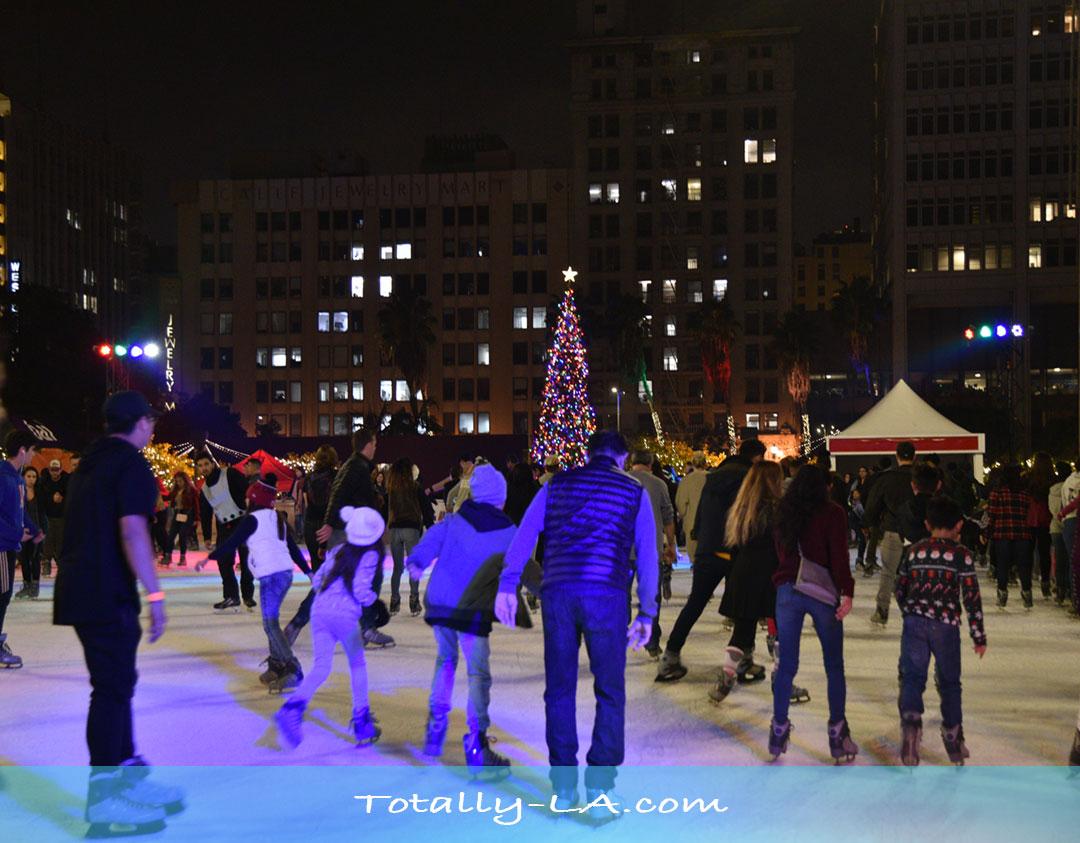 ice skating DTLA