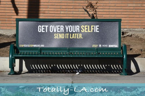 anti selfie ad