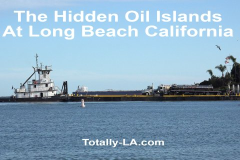 THUMS, The Camouflaged Oil Drilling Islands in Long Beach Harbor