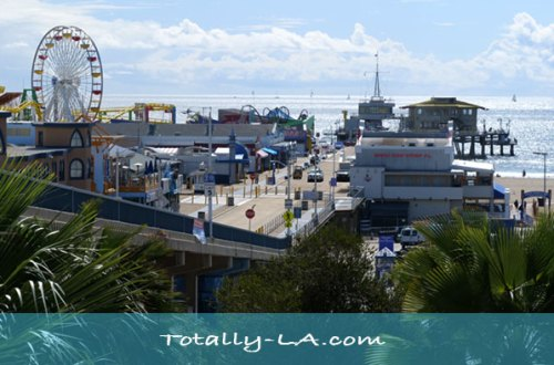 Santa Monica Pier Reopens