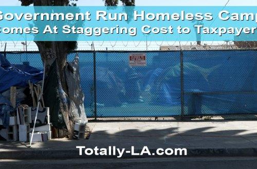 city homeless encampment