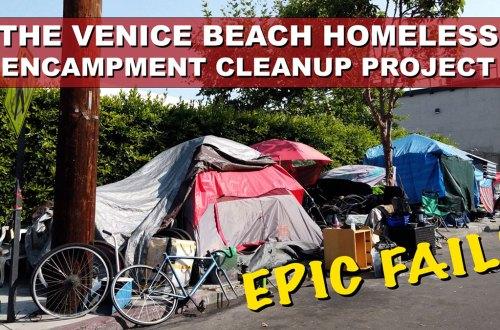 Homelessness Venice