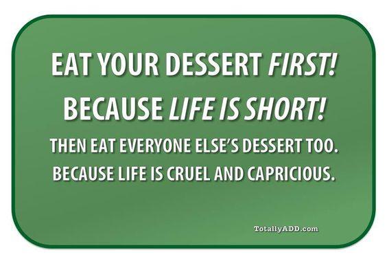 Meme about dessert