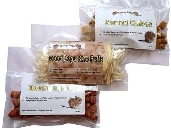 Mixed treat pack of three Product shot