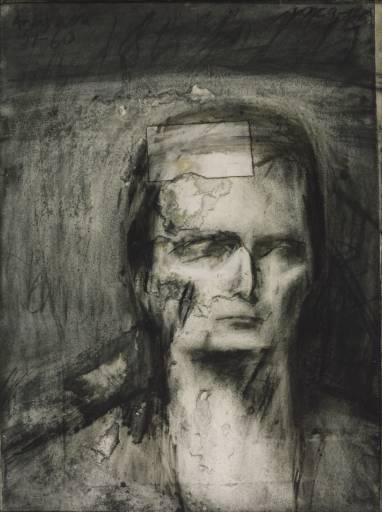 Kathe Kollwitz Self Portrait Drawing