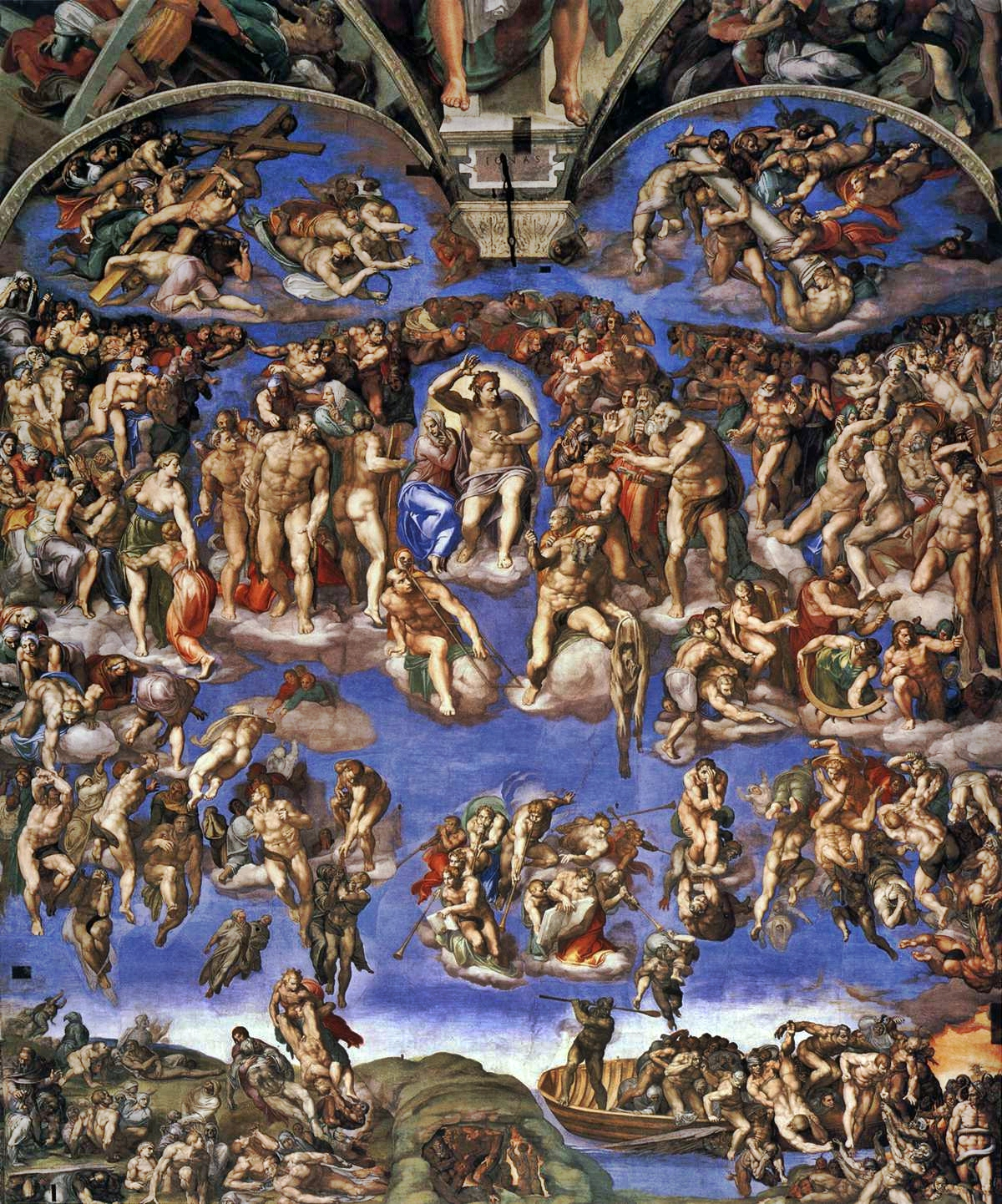 Image result for michelangelo's last judgment