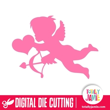 Cupid 1 TotallyJamie SVG Cut Files Graphic Sets Amp Clip