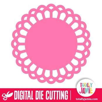 Doily Round 2 TotallyJamie SVG Cut Files Graphic Sets