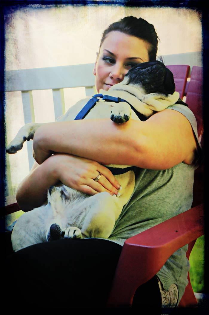 Hugs for Milo