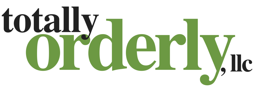 Totally Orderly Logo