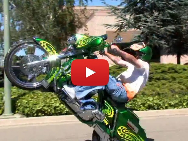 Baddest Bagger Wheelie Totally Rad Choppers