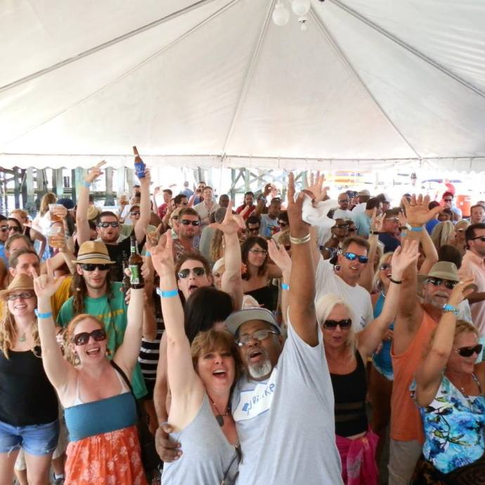 It's going to be a FUN weekend in St. Augustine! Photo shows Reggae Sunday at the Conch House. See more details in the list below. Contributed photo