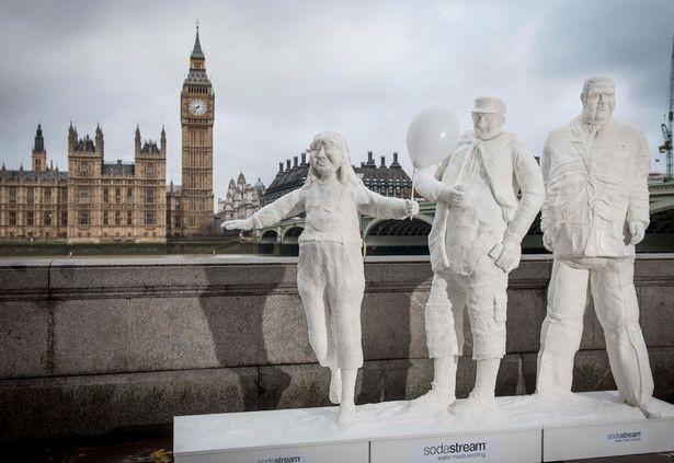 Totally Sugar - Sugar Statues for SodaStream