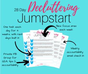 28 Day Decluttering Jumpstart