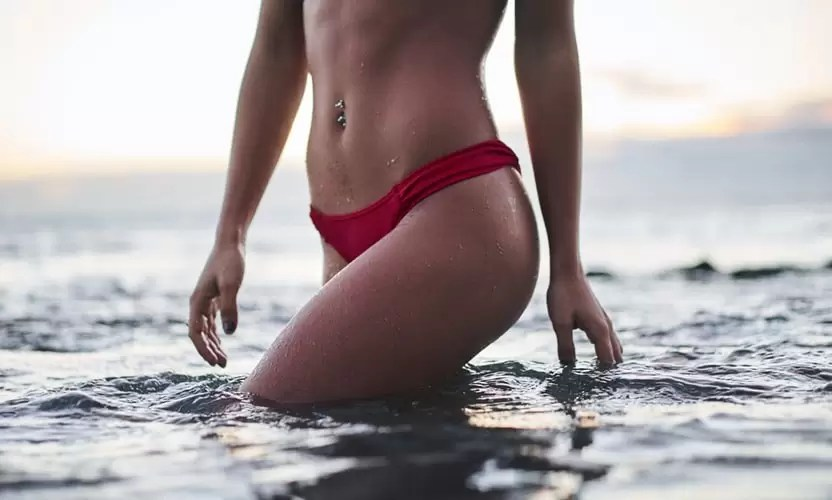 image of woman with no cellulite
