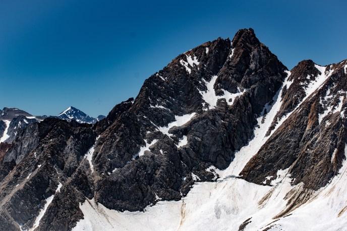Mt Humphreys; Mt Goddard beyond.