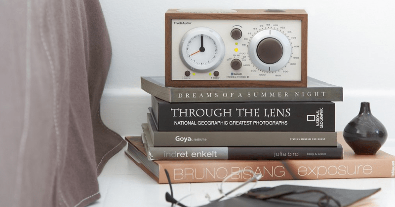 Tivoli Audio Model Three radio in walnut from Totally Wired