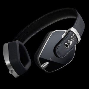 Pryma headphones in Pure Black from Totally Wired