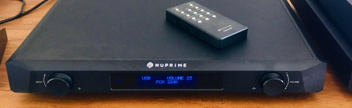 NuPrime Evolution DAC and preamplifier @totallywired.nz