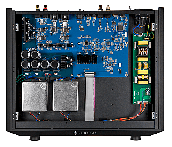 Inside the Nuprime Evolution DAC and preammplifier @totallywired.nz