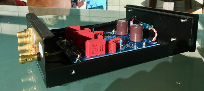 Inside the Well Tempered Labs Phono Stage @totallywirednz