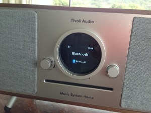 Tivoli Audio Music System Home control screen @totallywired.nz