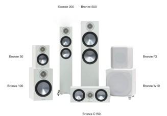 Monitor Audio Bronze 6G loudspeaker range in white@totallywired.nz