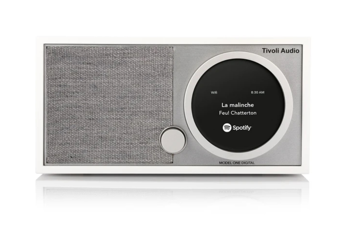 Tivoli Model One Digital in white @totallywired.nz