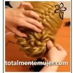 Peinado de novia con trenza francesa
