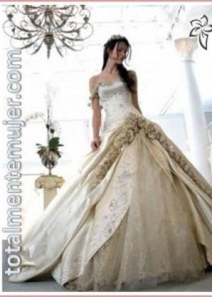 vestido de boda estilo princesa
