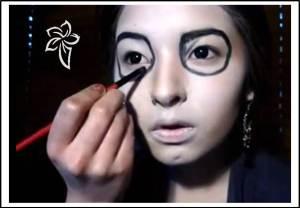 maquilla disfraz catrina