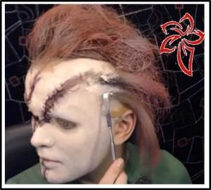 makeup chucky halloween