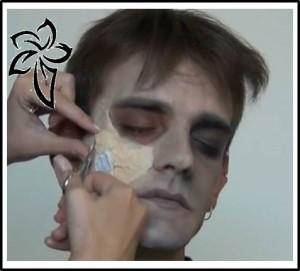 como hacer heridas falsas