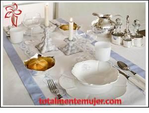 Montaje de mesa elegante