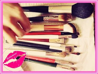 cuidado de las brochas de maquillaje