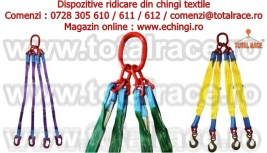 Echipament ridicare chingi sistem macarale stoc Bucuresti