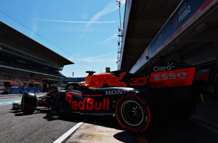 Max Verstapen Red Bull F1 Spanish GP 2021 Qualifying